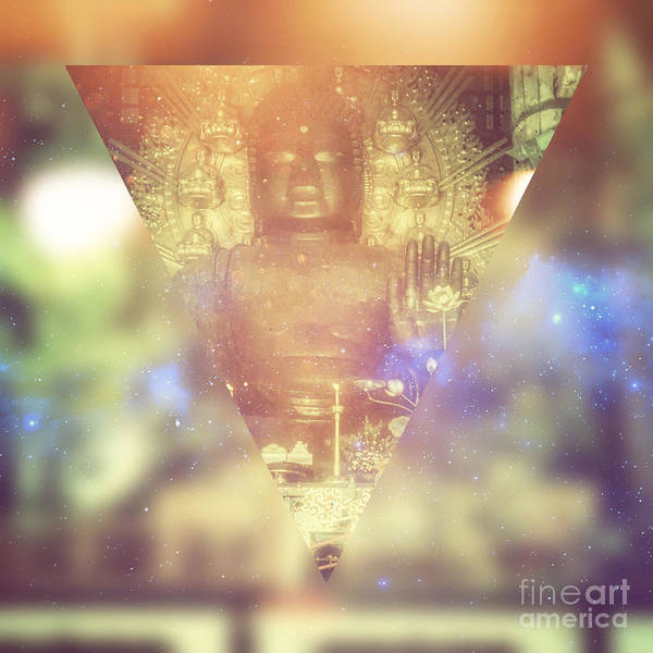 Digital Art - Buddha May Peace Prevail Within You by Beverly Claire Kaiya