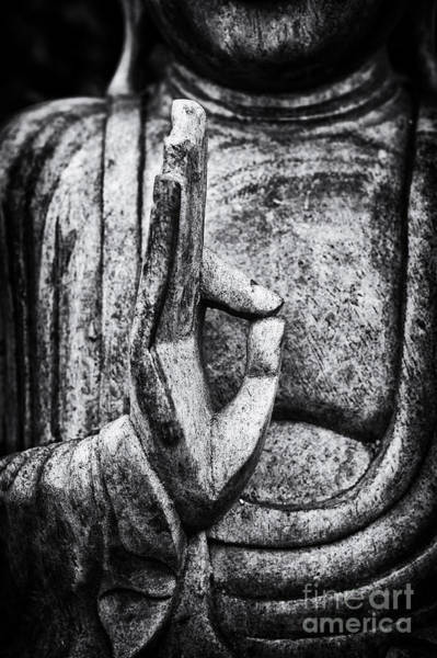 Wall Art - Photograph - Buddha Mudra by Tim Gainey