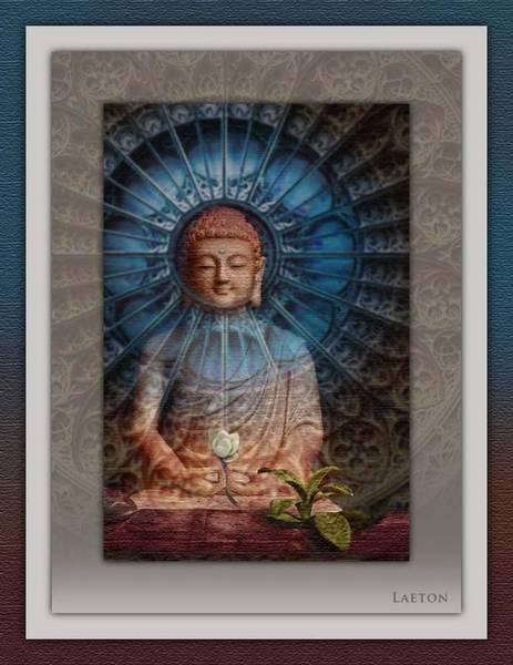 Photograph - Buddha by Richard Laeton