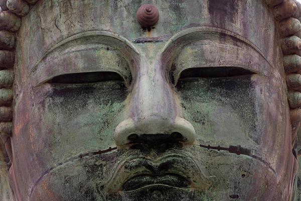 Kamakura Wall Art - Photograph - Buddha Statue, Daibutsu (gt Buddha by Peter Adams