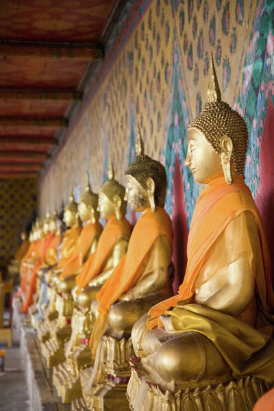 Art And Craft Photograph - Buddha Temple Wat Arun Bangkok by Lp7