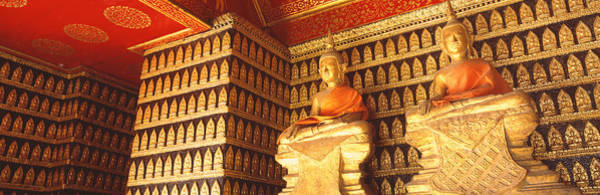 Laos Photograph - Buddhas Wat Xien Thong Luang Prabang by Panoramic Images