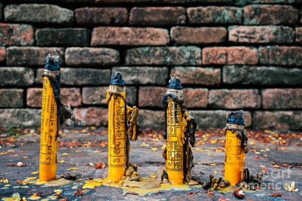 Wall Art - Photograph - Buddhist Incense by Dean Harte