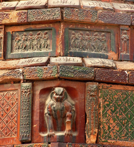 Wall Art - Photograph - Buddhist Monument Kaifeng China Built by William Perry