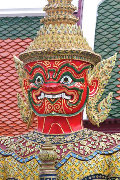 City Of David Photograph - Buddhist Mythology Yaksa Guarding by David R. Frazier