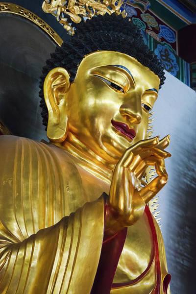 Buddhist Temple Wall Art - Photograph - Buddhist Statue In Jinshan Temple by Keren Su