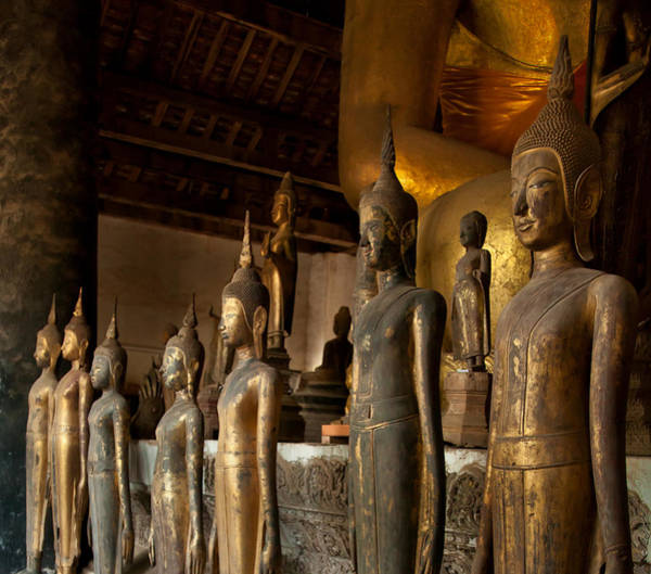 Photograph - Buddhist Statues E Photography By Jo Ann Tomaselli by Jo Ann Tomaselli