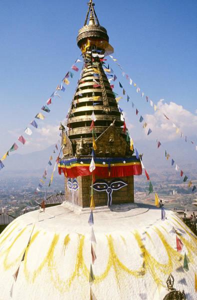 Wall Art - Photograph - Buddhist Stupa by Alison Wright