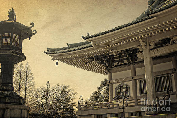 Photograph - Buddhist Temple In Spring by Beverly Claire Kaiya