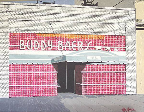 Buddy Baer's Art Print by Paul Guyer