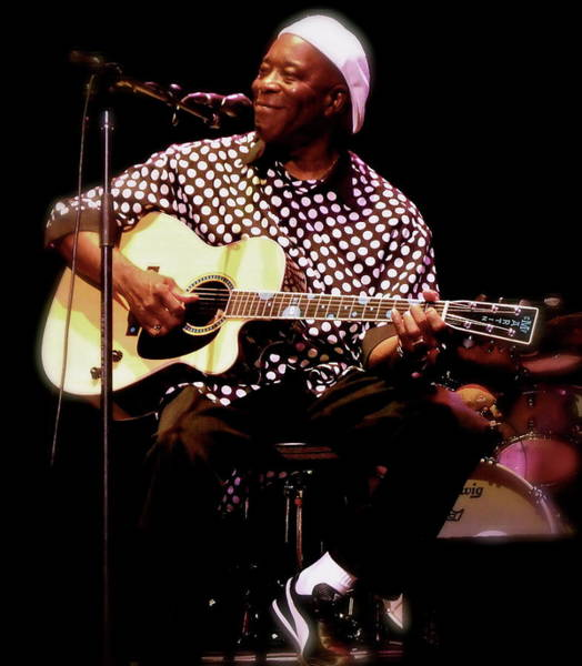 Photograph - Buddy Guy Buddy Guy by Iconic Images Art Gallery David Pucciarelli