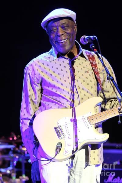 Waterbury Photograph - Guitarist Buddy Guy by Concert Photos