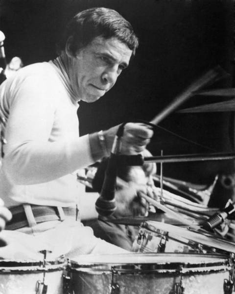 Rich Photograph - Buddy Rich by Silver Screen