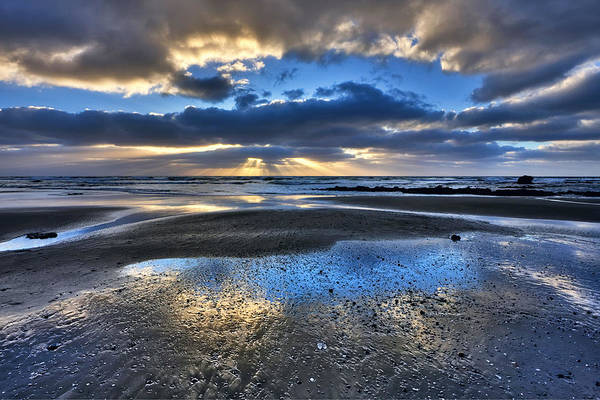 Photograph - Bue Sky Reflections by Beth Sargent