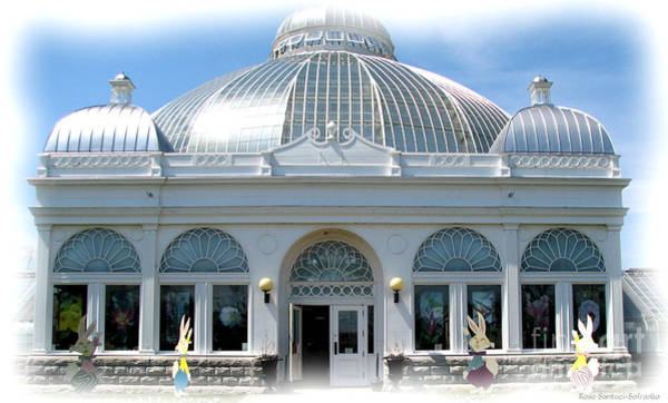 Photograph - Buffalo And Erie County Botanical Gardens At Eastertime by Rose Santuci-Sofranko