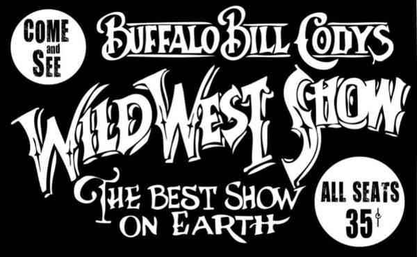 Wall Art - Digital Art - Buffalo Bill Cody Sign 2 by Daniel Hagerman
