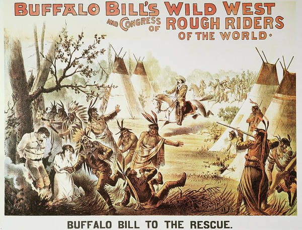 Painting - Buffalo Bill Poster, 1894 by Granger