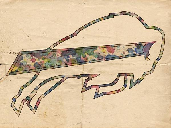 Painting - Buffalo Bills Poster Vintage by Florian Rodarte