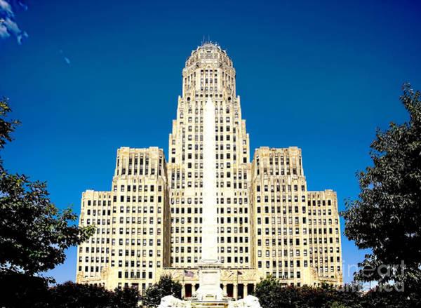 Photograph - Buffalo City Hall by Jim Lepard