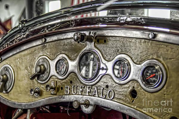 Photograph - Buffalo Fire Appliance Dash by Jim Lepard
