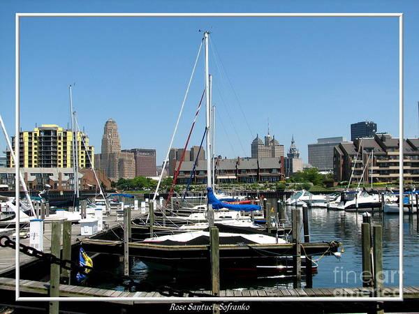 Photograph - Buffalo New York Boat Harbor by Rose Santuci-Sofranko