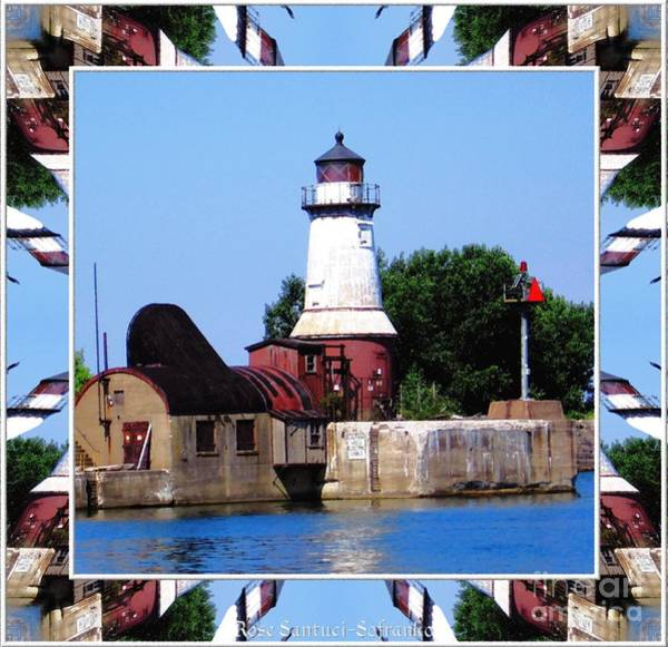 Photograph - Buffalo New York South Side Lighthouse by Rose Santuci-Sofranko