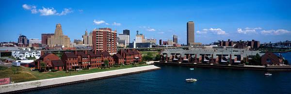 Housing Development Photograph - Buffalo Ny by Panoramic Images