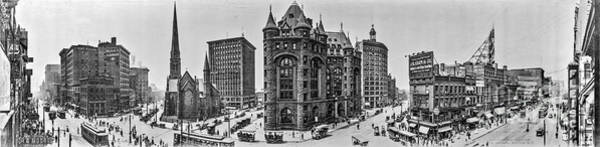 Photograph - Buffalo Panorama by Russell Brown