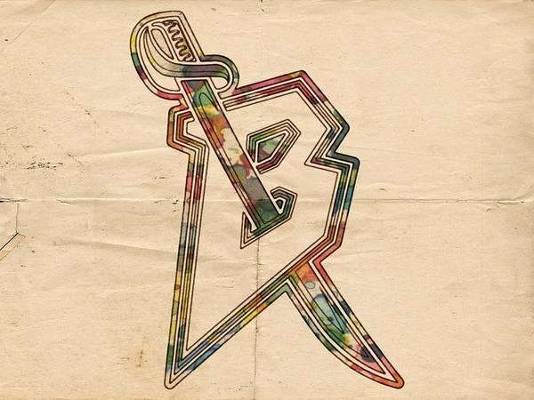 Painting - Buffalo Sabres Retro Logo by Florian Rodarte