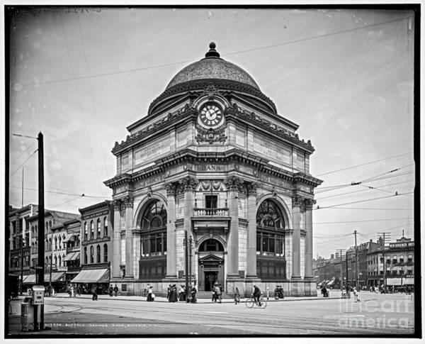 Photograph - Buffalo Savings Bank by Russell Brown
