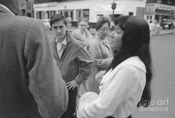 Greenwich Village Photograph - Buffy Sainte-marie by The Harrington Collection