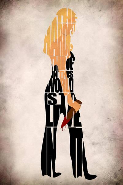 Tv Series Digital Art - Buffy The Vampire Slayer by Inspirowl Design
