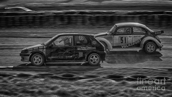 Rally Photograph - Bug Power by Nigel Jones