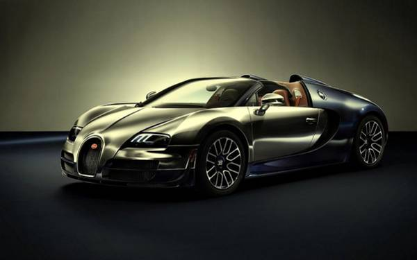 Photograph - Bugatti Veyron Ettore Bugatti Legend by Movie Poster Prints