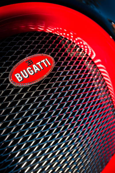 Photograph - Bugatti Veyron Legand -0520c by Jill Reger