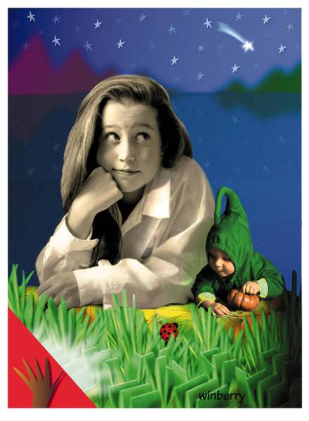 Digital Art - Bugs To Stars by Bob Winberry