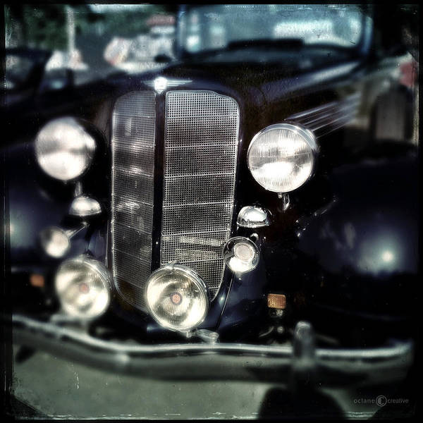Photograph - Buick At The Car Show by Tim Nyberg