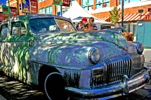 Photograph - 1947 Buick Desoto Classic by Ginger Wakem