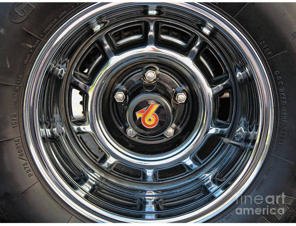 Wall Art - Photograph - Buick Grand National Wheel by William Kuta