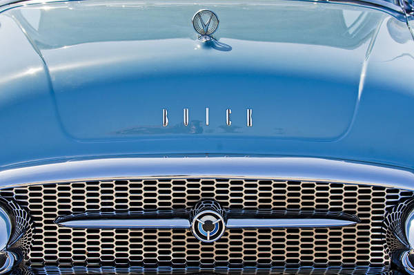 Grilles Photograph - Buick Grille by Jill Reger