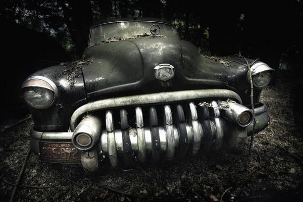 Forgotten Photograph - Buick by Holger Droste