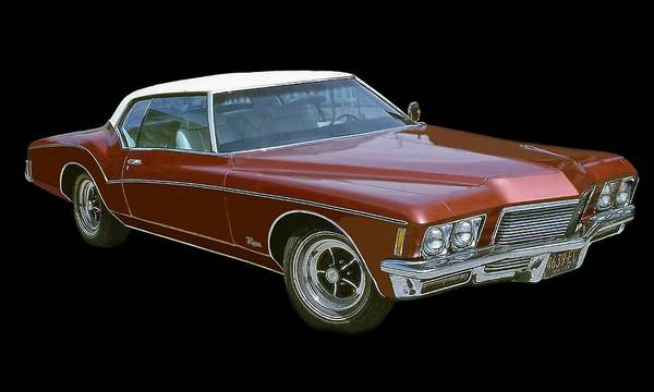 Photograph - Buick Riveria by Larry Linton