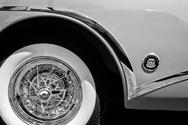 Photograph - Buick Skylark Wheel Emblem by Jill Reger