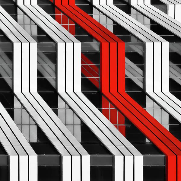 Wall Art - Photograph - Building Abstract by Gary E. Karcz
