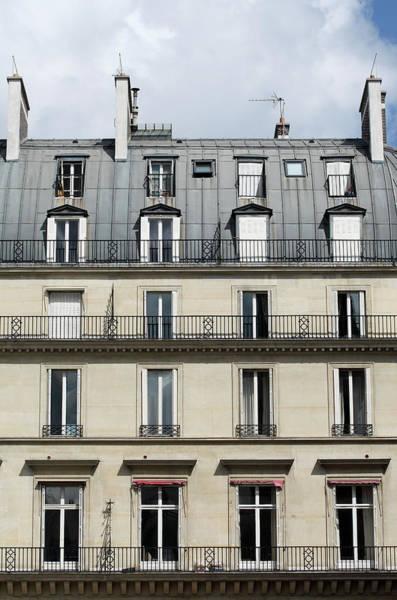 Paris Rooftop Photograph - Building In Paris, France by  Laurent
