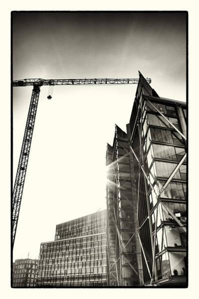 Bankside Photograph - Building London 1 by Lenny Carter