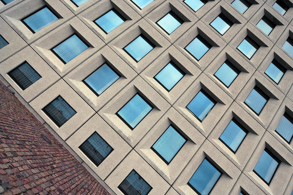 Building Of Windows Art Print