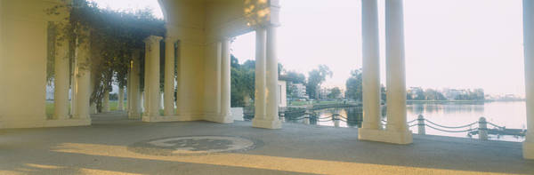 Wall Art - Photograph - Building On The Waterfront, Lake by Panoramic Images