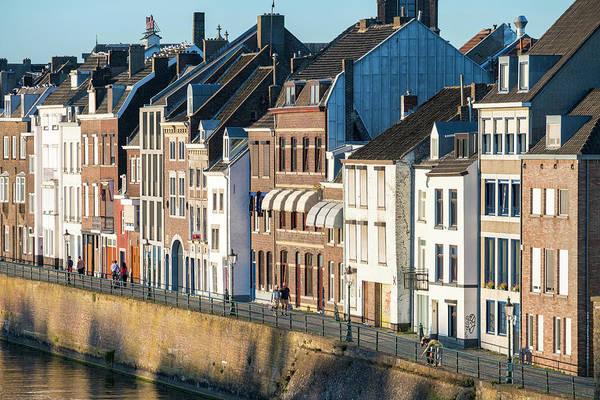 Jason Day Photograph - Buildings Along Meuse River by Jason Langley