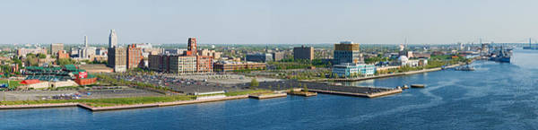Wall Art - Photograph - Buildings At The Waterfront, Adventure by Panoramic Images
